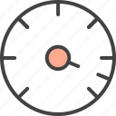 accelerate, optimization, speedometer icon