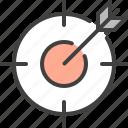 aim, bullseye, goal, page, target