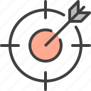 aim, bullseye, goal, page, seo, target