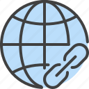 globe, internet, link, url, web, website icon