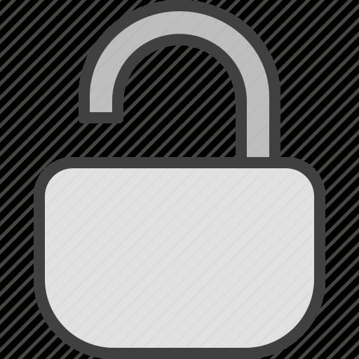 open, padlock, private, safety, unlock, unlocked icon