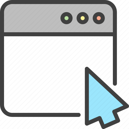 Arrow, browser, cursor, page, seo, window icon - Download on Iconfinder