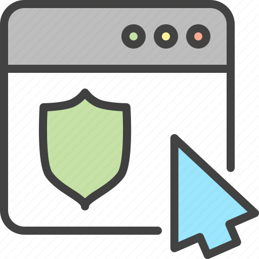 Cursor, guard, protection, security, seo, shield, window icon - Download on Iconfinder