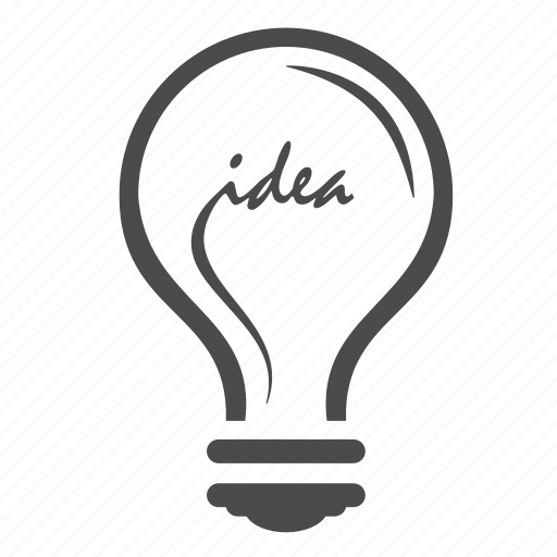 brainstorming, idea, lamp, light bulb, planning, seo, solution icon