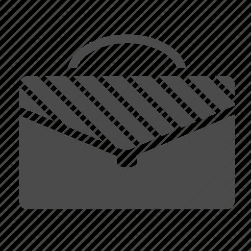 bag, briefcase, career, case, documents, portfolio, seo icon