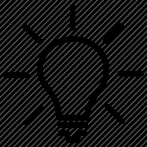 brilliant, bulb, clever, eureka, idea, nice, thinking icon