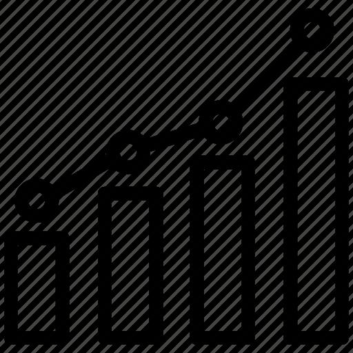 analyzer, campaign, graph, keyword, ranks, rating, seo icon