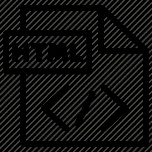 code, development, html, programming, web icon