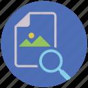 find, image, mobile marketing, seo, seo pack, seo services, web design icon