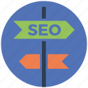 direction, mobile marketing, seo, seo pack, seo services, web design icon