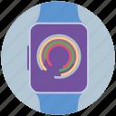 mobile marketing, seo, seo pack, seo services, smart, watch, web design icon