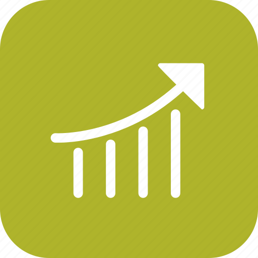 graph, performance, ranking, seo icon