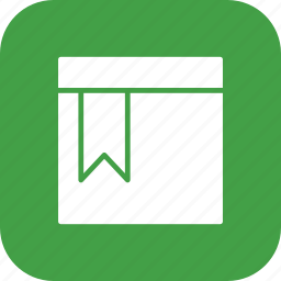 bookmarked, dictionary, guidebook, page, save, web, wisdom icon