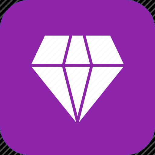 Diamond, jewel, gemstone icon - Download on Iconfinder