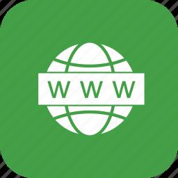 search, web, website, www icon