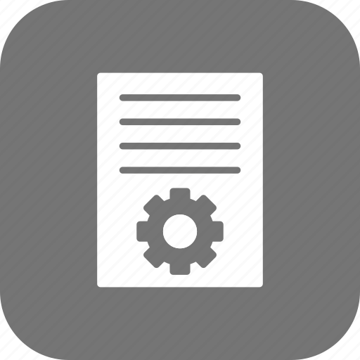 article, configure, marketing, page, publish, settings icon