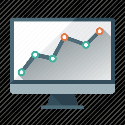 analysis, analytics, chart, monitor, monitoring, rankings, seo icon