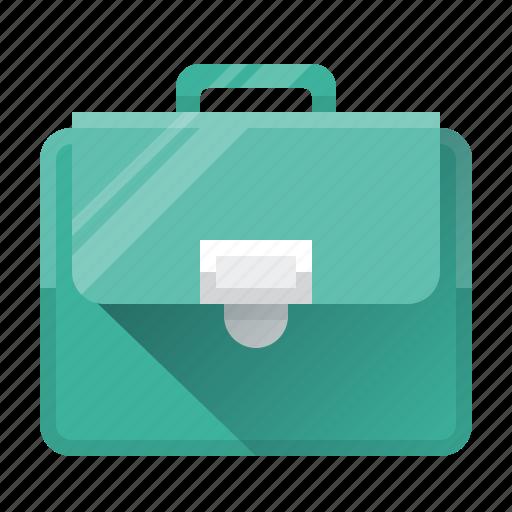 bag, briefcase, business, portfolio, portfolio case, purse, seo icon