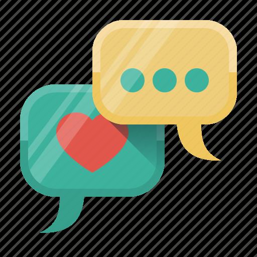 blogging, chat, comments, conversation, dialogue, social, social activity icon