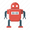 droid, drone, innovation, invention, machine, robot, technology icon