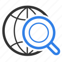 find, magnifying, marketing, optimization, search, seo, view icon