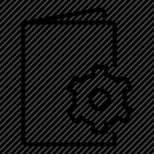 document settings, file, file settings, folder, gear, set up, settings icon