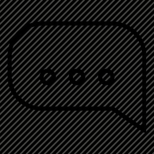bubble, chat, dialogue, message, speech, speech bubble icon