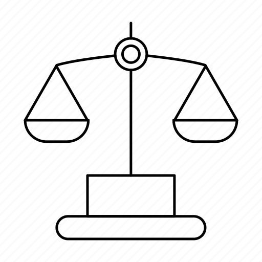balance, judge, justice, law, legal icon