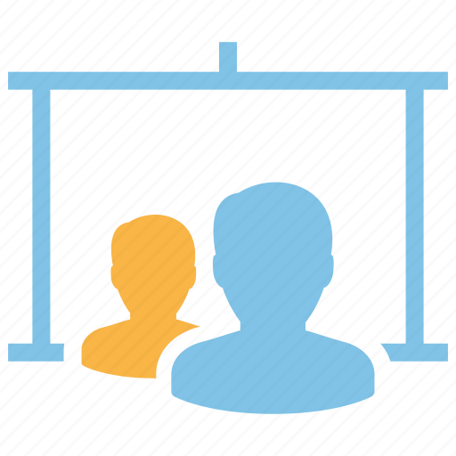consultant, presentation, seo, teaching, training icon