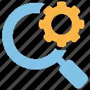 customisation, explore, setting, optimisation, search