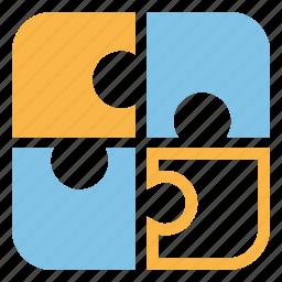 communication, complex, creative, puzzle, seo, solution, speacialist icon