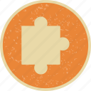 concept, game, jigsaw, leisure, piece, puzzle, puzzle piece icon