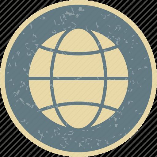 globe, site, web icon