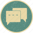 chat, conversation, talk icon
