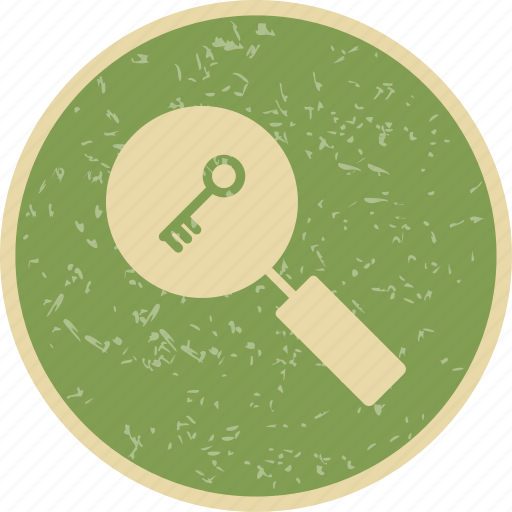 find, keyword, search icon