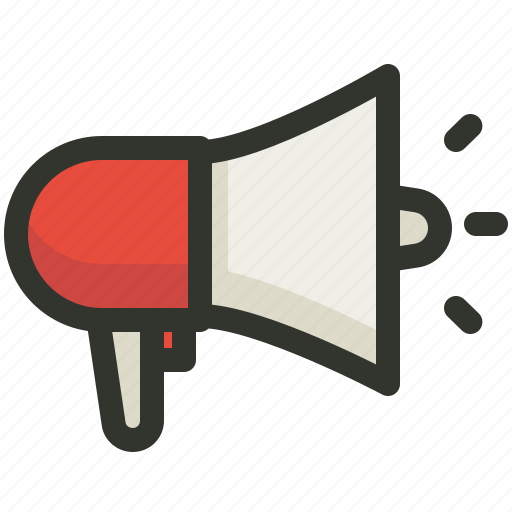 ads, advertising, announcement, marketing, megaphone, promotion icon