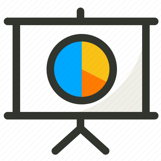 chart, pie, presentation, report, sales, statistics icon