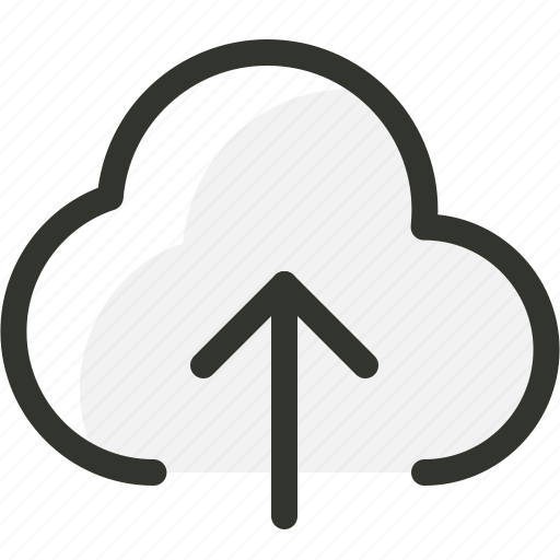 backup, cloud, computing, storage, upload icon