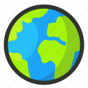 atlas, earth, geography, globe, planet, world, worldwide icon