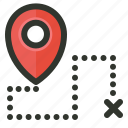 gps, location, map, marker, navigation, pin, track icon