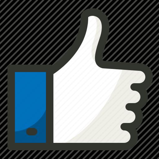 hand, like, seo, social, thumb, up icon