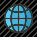 globe, internet, page, web, website