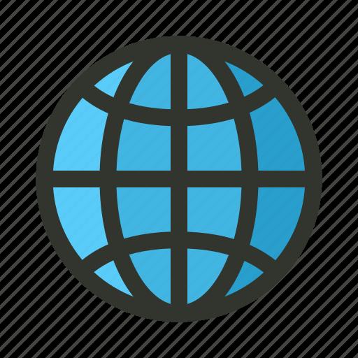 Globe, internet, page, web, website icon - Download on Iconfinder