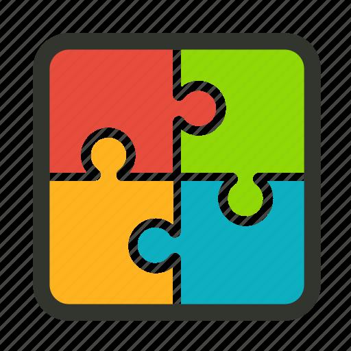 brainstorm, complex, creativity, marketing, problem, puzzle, solution icon