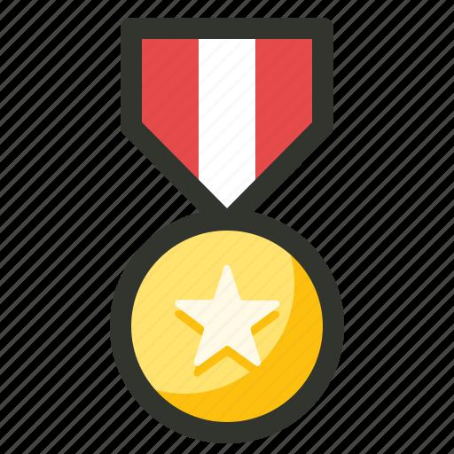 achievement, medal, prize, reward, success icon