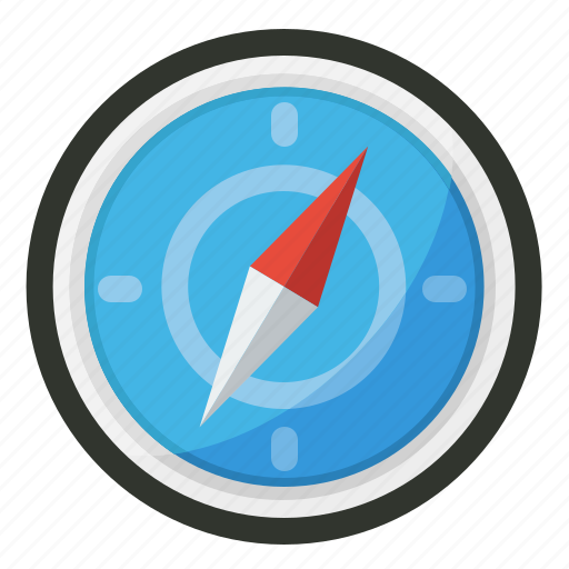 compass, direction, navigation, travel icon