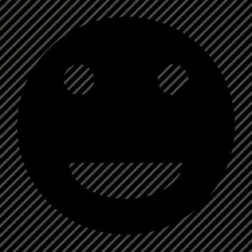 emoji, emoticon, expression, happy, smile, smiley, smiling icon