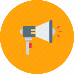 ads, advertisement, advertising, announcement, loud, seo, speaker icon
