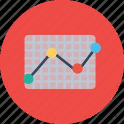 analysis, chart, data, graph, performance, research, statics icon