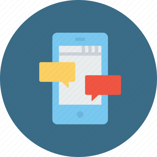 chat, chatting, communication, message, mobile, optimization, seo icon
